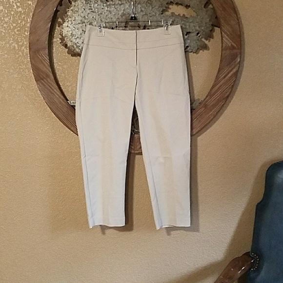 966314f9676 Apt. 9 Pants - Apt 9 Torie Capri tan khaki slacks pants womens 4